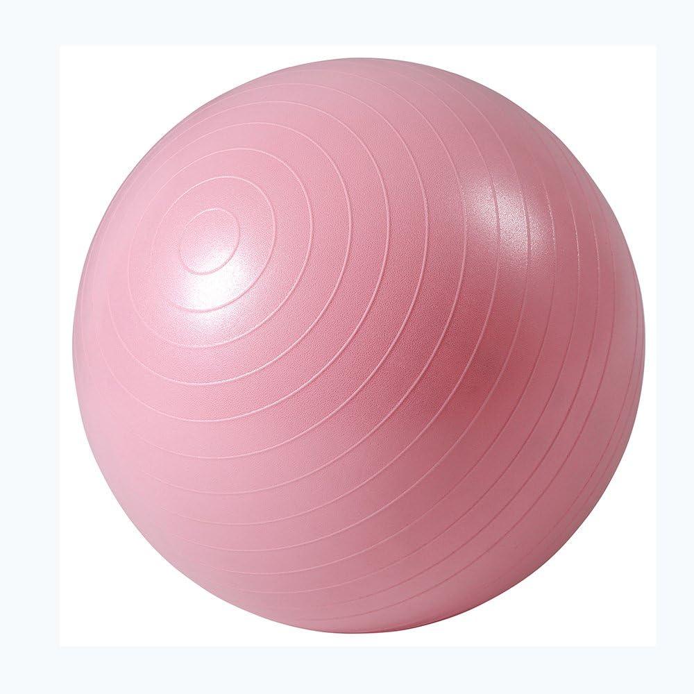 Multi-Couleur JOYSPACE Ballon Fitness Ballon de Gymnastique /épais Balle dexercice avec Pump Anti-/éclatement et Anti-d/érapant Swiss Ball pour Fitness Gym Yoga Pilates Grossesse 55cm 65cm 75cm