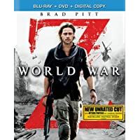 Deals on World War Z Blu-ray + HD Digital