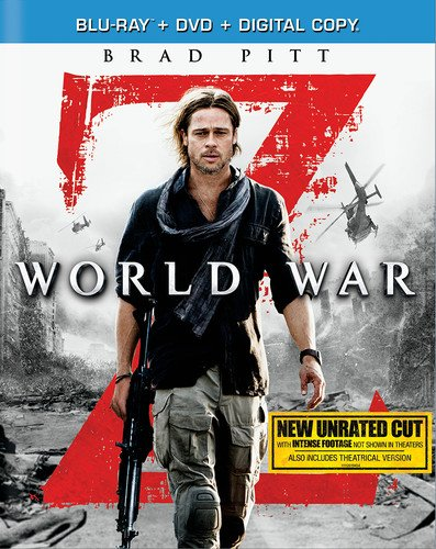Amazon: World War Z Blu-ray Now $5.00 (Was $40)