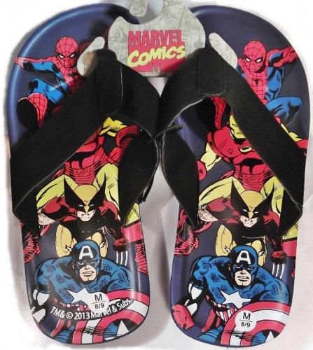 Marvel Comics Super Heroes Heren Flip-flop Sandalen - Maat Medium (m)