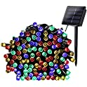 Qedertek 200-LED Solar Powered Christmas Lights