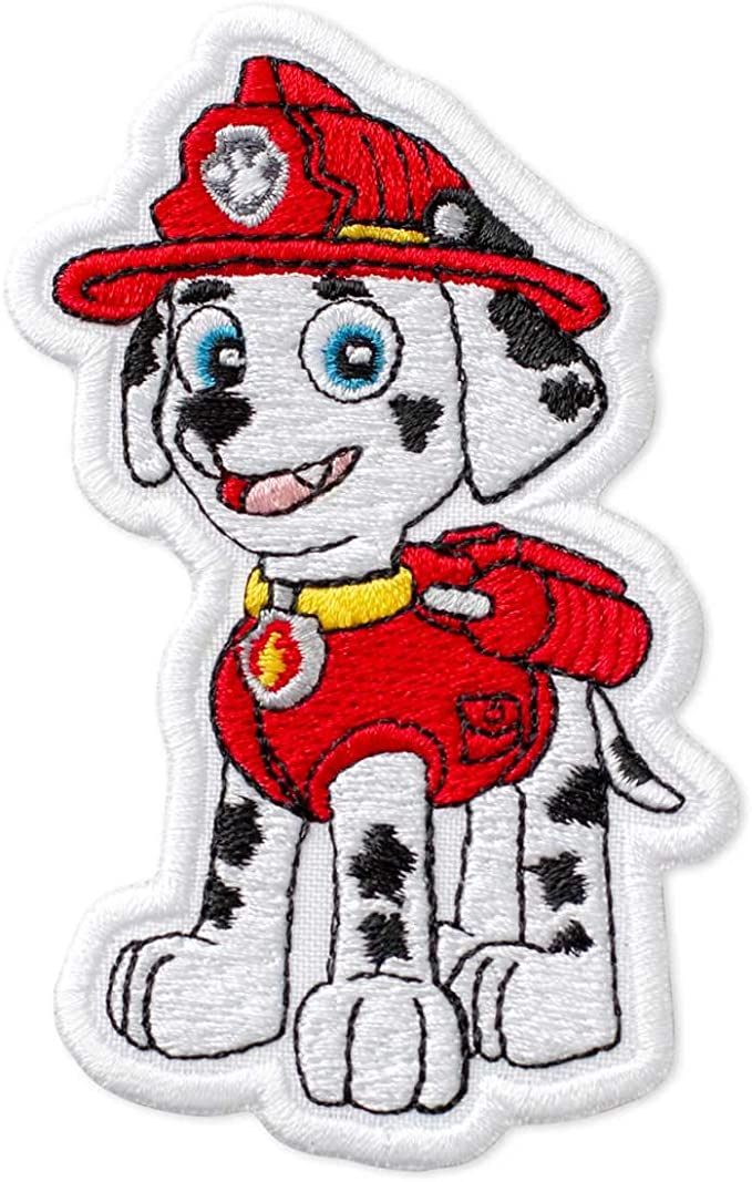PAW  PATROL MARSHALL Chase Fleece Fabric Style# 4015 60 Wide 7 x 5.5 Logos Free Shipping!!