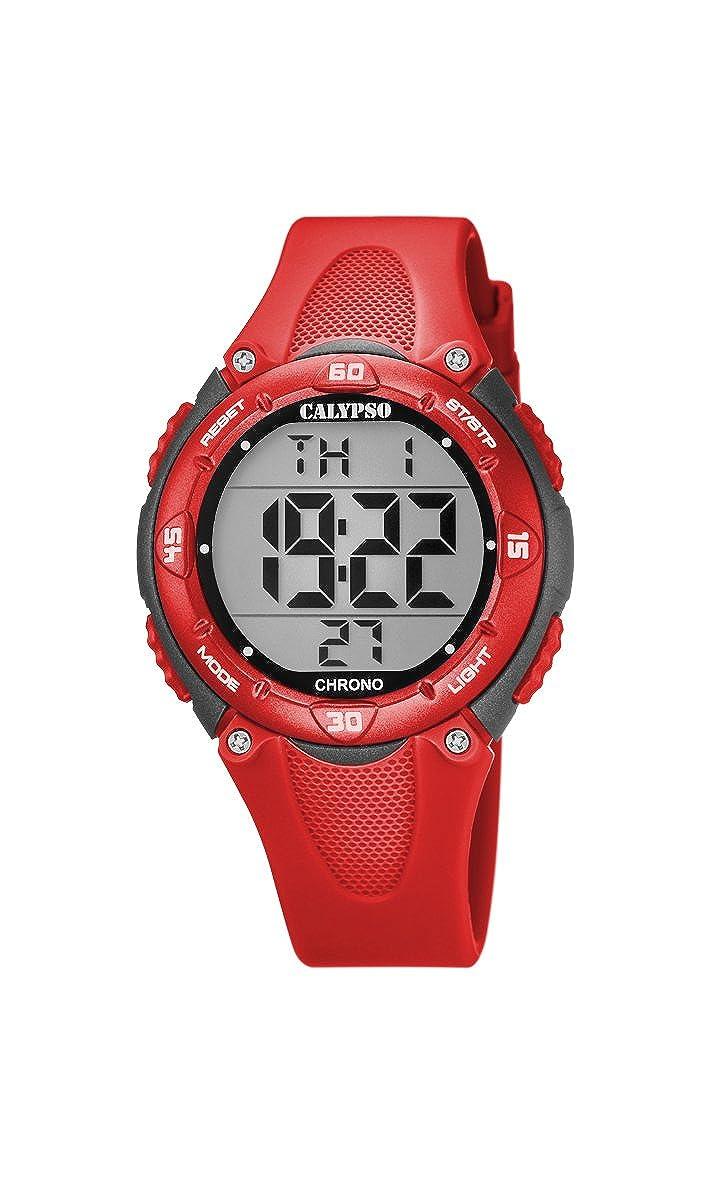 Calypso Reloj Digital para Unisex de Cuarzo con Correa en Plástico K5741/6