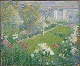 Theodore Earl Butler - Un Jardin Maison Baptiste Artistica di Stampa (45.72 x 60.96 cm)