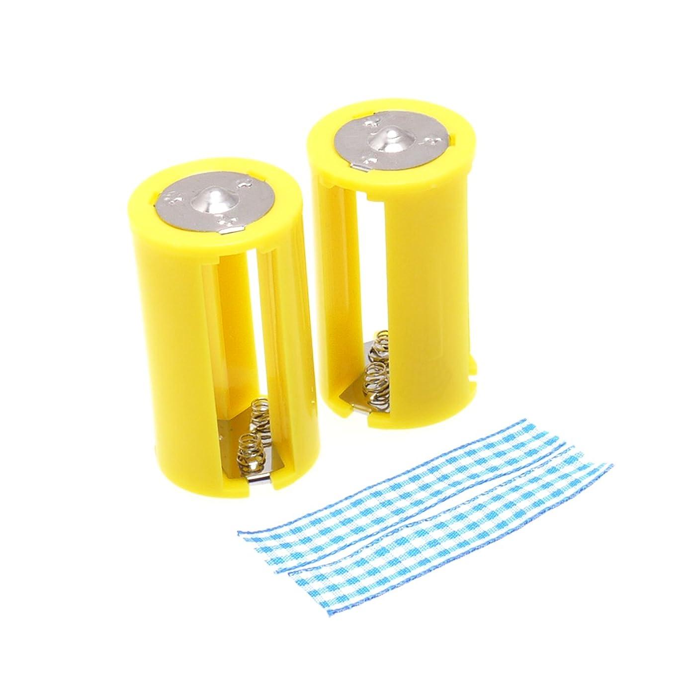 ワーカー定規旅行者サンワダイレクト 電池ケース 単4?単3電池対応大容量タイプ 合計28本収納 200-BT006BK
