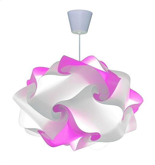 CREATIV LAMP - Suspension Luminaire | Abat-Jour à Suspendre au Plafond |  Pour Décoration Salon, Lustre Chambre Fille, Enfant Ado, Adulte | Ampoule  Led ...