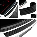 90cm Rear Bumper Protector, Rear Bumper Guard,Prevent Scratches While Unloading and Loading & Cover Any Existing Scratches and Paint Damage for fits Most Cars,Easy D.I.Y. Installation