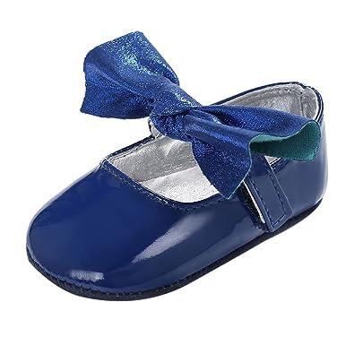 Kleinkind Baby Neugeborene Weiche Krippe Schuhe Prewalker Sole Schuhe .