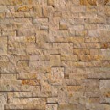 Koni Stone Citali Series Moscato 6 sq. ft. Panel 6 in. x 24 in. x 0.40 in. - 0.80 in. Natural Stone