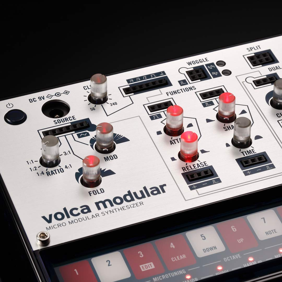 Korg Volca Modular Semi-Modular Synthesizer with Sequencer by Korg (Image #6)