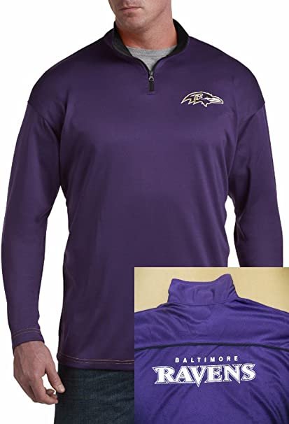 NFL Baltimore Ravens Half Zip Jacket