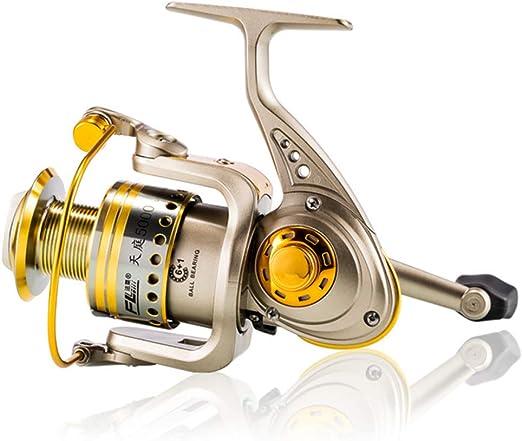 Spinning Carrete De Pesca 6 BB + 1 Bolas De Rodamiento 1000-6000 ...