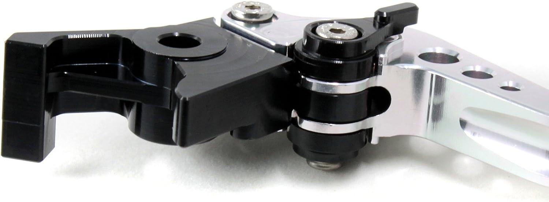Pro argento CNC frizione leve freno per Yamaha XT660Z 2008/ /2013