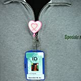 Blue RFID Blocking ID Badge Holder