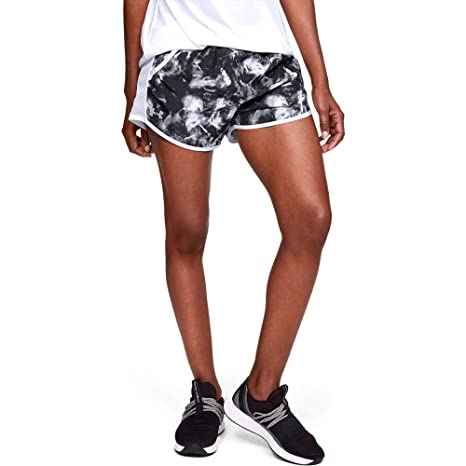 850d9cfe2b553 Amazon.com : Under Armour Women's UA Fly-by Team Printed Shorts ...