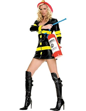 fire woman adult costume plus size 1x2x - Halloween Costume Fire