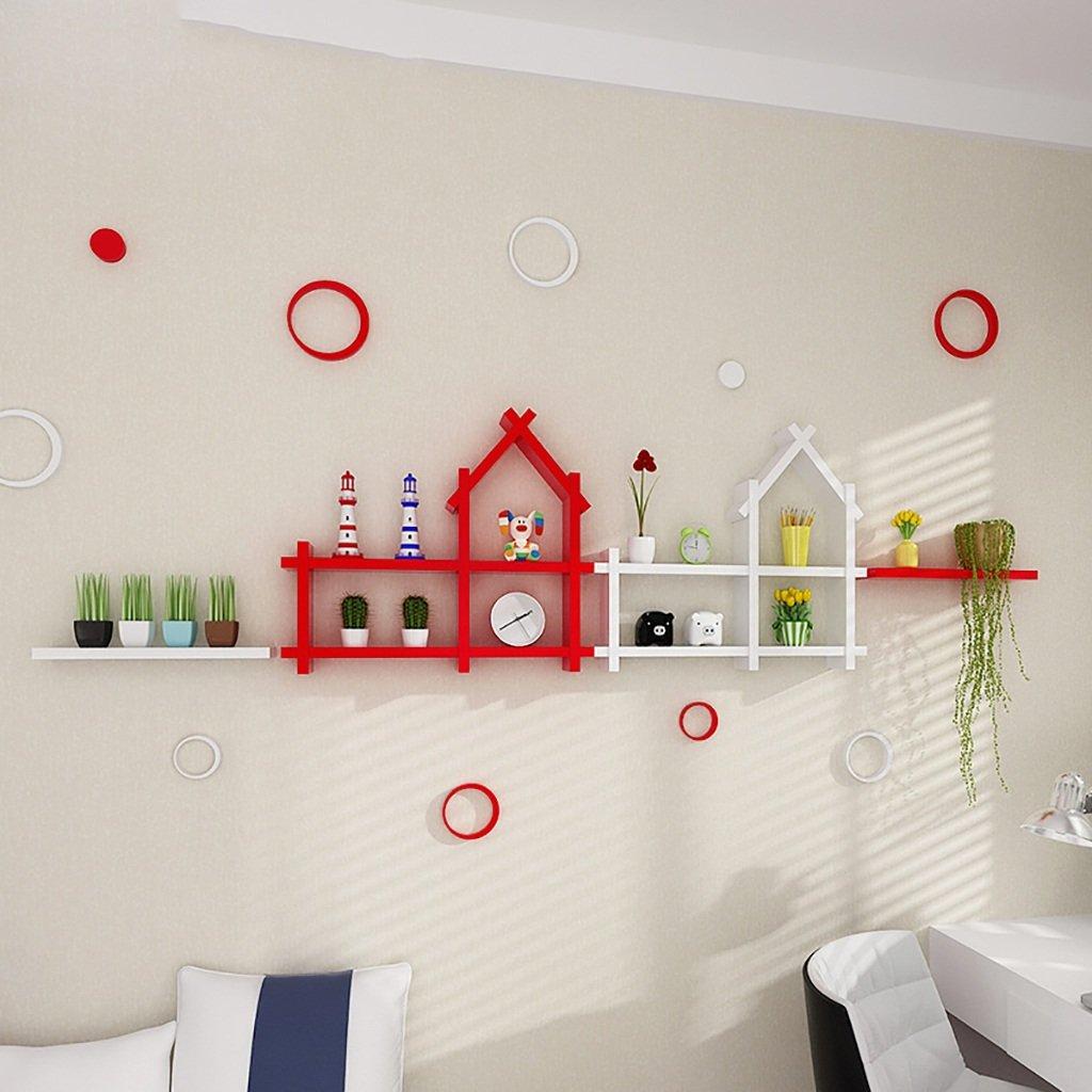 JH Wand-Lagerregal Massivholz dekorative Rahmen kreative wandregal ...