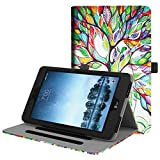 lg android tablet - Fintie Sprint LG G Pad F2 8.0 Case (Not Support Extra Battery Plus Pack), Multi-Angle Viewing Stand Cover w/ Pocket for LG GPad F2 8.0 Sprint Model LK460 8-Inch Android Tablet 2017 Release, Love Tree