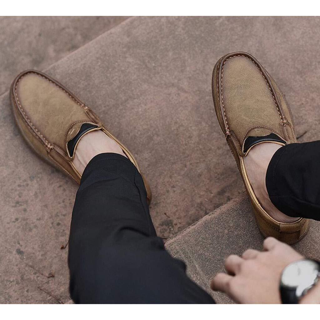 Xxoschuhe Herren Atmungsaktive Leder Freizeitschuhe schnüren schnüren schnüren Sich Oxfords Kleid Schuhe Braun Schwarz 041cb0