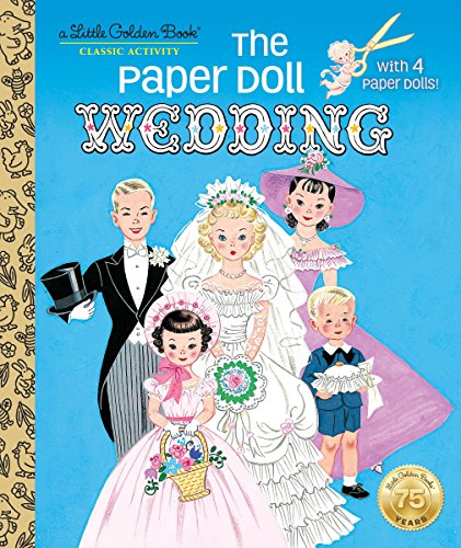 The Paper Doll Wedding (Little Golden