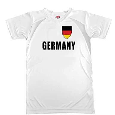 6cce820e7 Hardkor Sports Customized Germany Soccer Jersey Adult Small in White and  Black