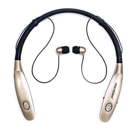 Auriculares Bluetooth, YaYinKeJi Auriculares Deportivos inalámbricos, Largo Standbye 200 Horas, Auriculares con Banda