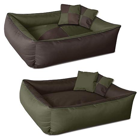 BedDog 2 en 1 colchón para Perro MAX Quattro M Aprox. 70x55 cm, 9