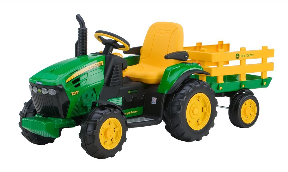 12V Charger for Peg Perego Kids Ride On Car 12 Volt Battery Charger Works with Peg-Perego John Deere Ground Force Tractor John Deere Gator XUV Gaucho Rockin