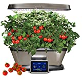 Miracle-Gro Aerogarden Bounty Elite LED 9-pod with Gourmet Herbs and Bonus Cherry Tomato Kit