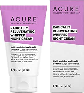 Acure Radically Rejuvenating Whipped Night Cream, 50 ml