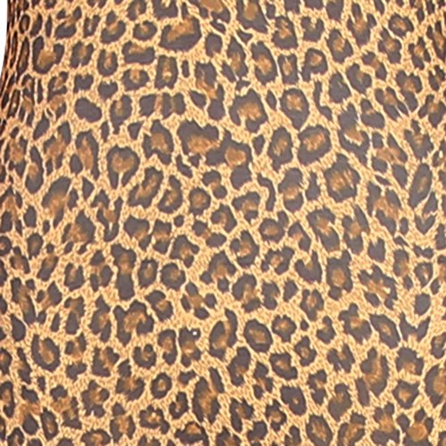 JustinCostume Adult Elbow Length Gloves Halloween Costume Accessories, Leopard, OS