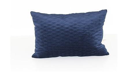 Brentwood Originals 6467 Ripple Plush Throw Pillow, Indigo