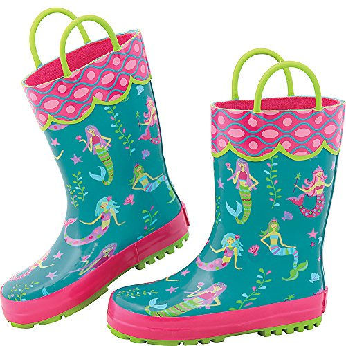 Stephen Joseph Girls All Over Print Rain Boots
