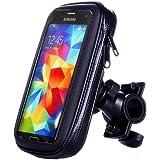 ArtMark Universal Bicycle Waterproof Phone Case Bag Bike Motorcycle Handle Bar Mobile Phone Stand Holder Mount For iphone 7 6 6S Plus