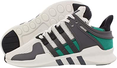 adidas Womens EQT Support Adv Lace Up Sneakers Shoes Casual - Black,Green,Off White