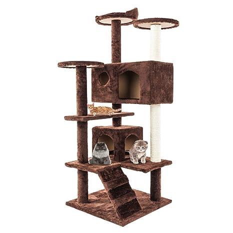Amazon.com: Stark Item - Torre para gatos de 52 pulgadas ...