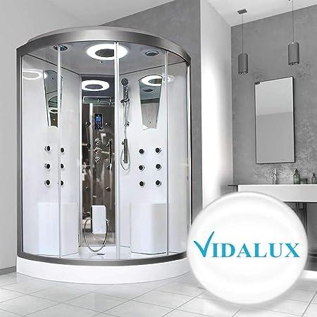 Vidalux Selsey - Ducha termostática para 2 personas (1300 x 1300): Amazon.es: Hogar