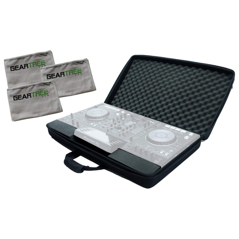 Magma Mixware CTRL DDJ-SB2/RB Case Bundle w/Cloth 3-Pack