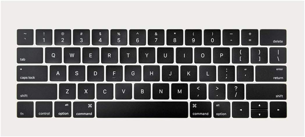 ICTION New A1989 A1990 US Keyboard Key caps Full Set Replacement for MacBook Pro 13'' 15''A1990 A1989 2018 Year