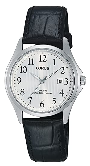Relojes Lorus Damen-reloj analógico de cuarzo cuero RH719BX9: Amazon.es: Relojes