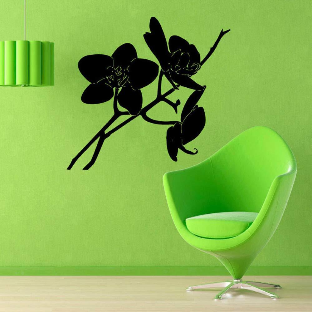 caowenhao Etiqueta de la Pared de la orquídea Tatuajes de Pared ...