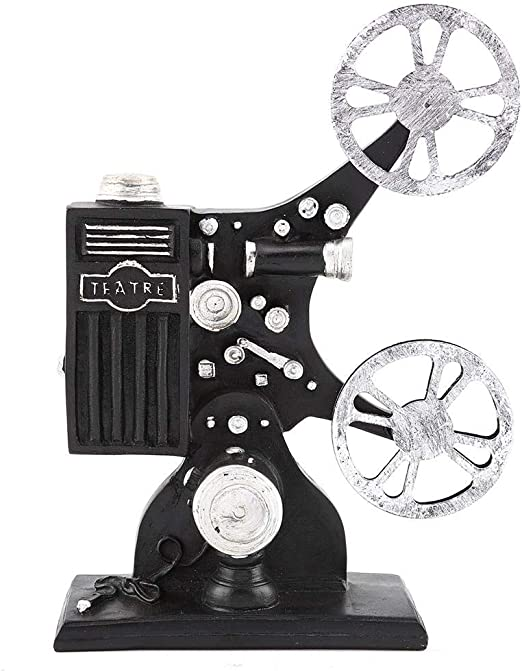 Vintage figura de resina película película proyector modelo modelo ...
