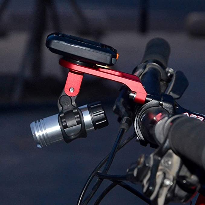 la computadora del Montaje del GPS para Garmin Edge Bryton Cateye Ciclismo weshcun aleaci/ón de Aluminio de Montaje de la Bicicleta