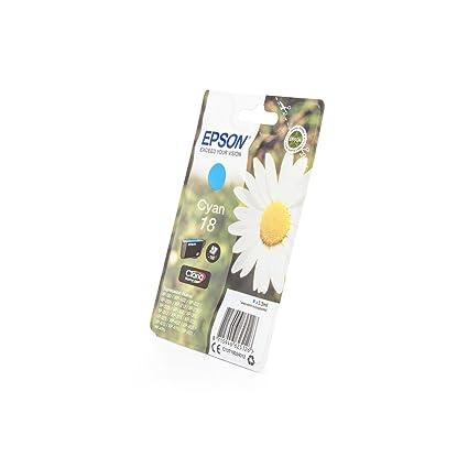 Epson T18024 - Cartucho de Tinta para Impresora, Color Cian ...