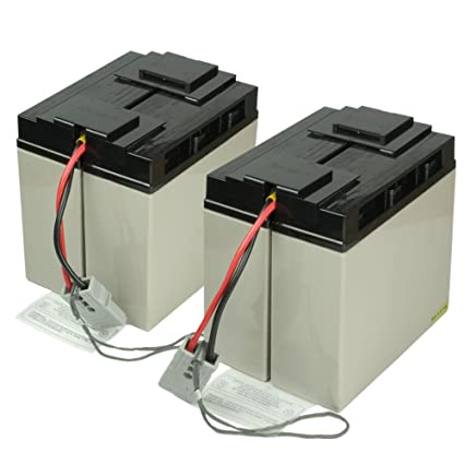 Amazon com: Replacement RBC-55 Rechargeable Battery Pack