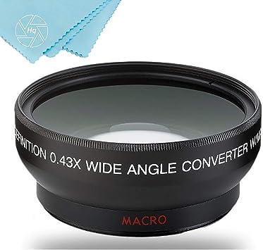 4 eCos 2 58mm Pro Series 4pc HD Macro Close Up Filter Set 10 for Canon VIXIA HF G10 Flash Memory VIXIA HF G30 Full HD Camcorder VIXIA HF S30 Flash Memory Camcorder and More Models 1