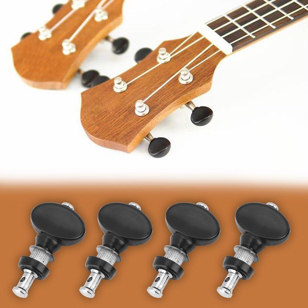 Pinzas Afinaci/ón de Guitarra Clavijas de Guitarra Afinaci/ón Pin de Cabeza de la m/áquina para Guitarra Ukelele