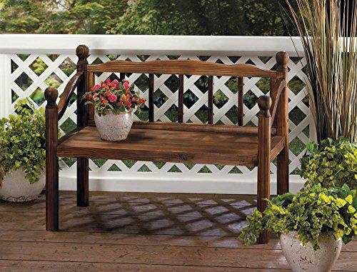 outdoor corner bench - 4
