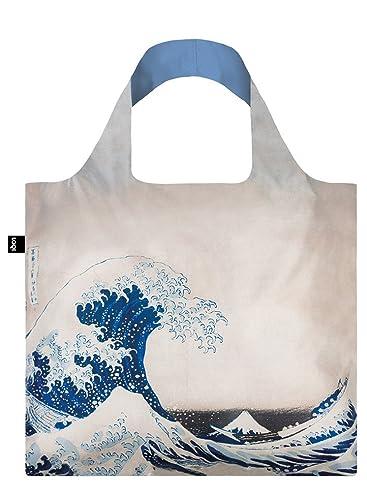 LOQI Museum Hokusai the Great Wave Reusable Shopping Bag