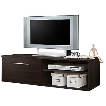4b5be268e02 JUSTyou BONI II Mueble para TV Mesa televisión salón Tamaño  37x180x45 cm  Blanco Mat JUSThome